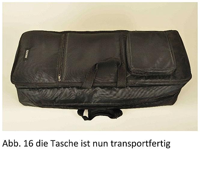 Reise-Cello Transporttasche
