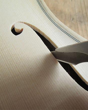 Geige selber bauen